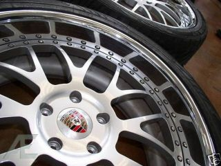 22 Porsche Forged Rims Tires Cayenne Turbo Panamera
