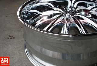 28 Truck Rims Wheels B15 Chrome Bentchi Wheels Tires