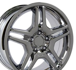 18 AMG Wheel Chrome Rim Fits Mercedes C E s Class SLK CLK CLS ET35