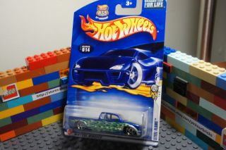 Hot Wheels Steel Flame Diecast Car HW Highway 35th Anniversary First