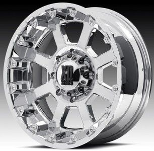 20 inch 20x10 XD Chrome Wheels Rims 8x170 Ford F 250 F 350 Excursion