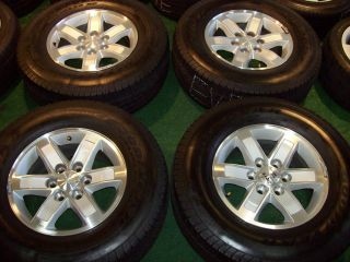 17 GMC Sierra Silver Wheels for Chevrolet Tahoe Suburban Yukon 1500