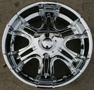 Karizzma Bellum KR05 20 Chrome Rims Wheels Lincoln Mark Lt