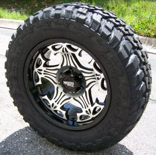 20 Motometal Skull Wheels 35 Federal MT Tire Tundra