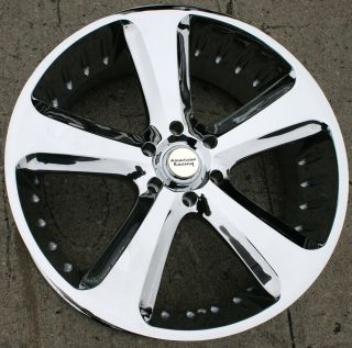 American Racing Circuit 870 24 Chrome Rims Wheels Tahoe 07 Up