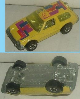 Hot Wheels Car 1977 Yellow Packin Pacer HK