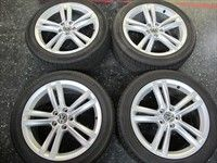 Four 2012 2013 VW Passat Factory 18 Wheels Tires Rims 69929
