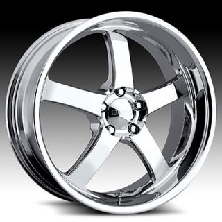 22 x9 Boss 335 3356 Chrome Wheels Rims 5 Lug