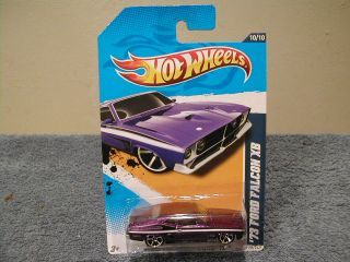 Hot Wheels 2012 Muscle Mania Ford 12 10 73 Ford Falcon XB