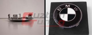 BMW Racing Style Wheel Center Cap Emblem Decal Logo Sticker 68mm 4pcs