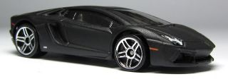 Hot Wheels Black Lamborghini Aventador LP 700 4 Diecast HW Showroom