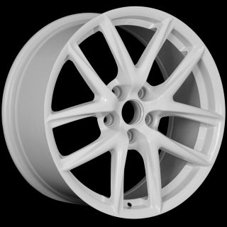 18 LFA Style White Wheels Rims Fit Infiniti G35 G37 Q45 MDX 2001 2006