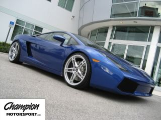 Motorsport Monolite Lamborghini Gallardo Forged 20 Wheels