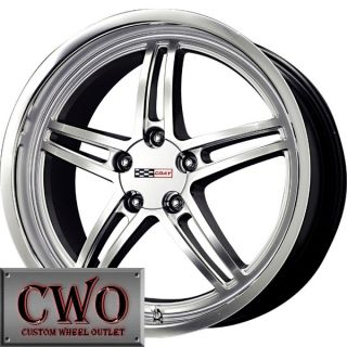 18 Silver Cray Scorpion Wheels Rims 5x4 75 5 Lug Chevrolet Chevy