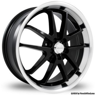 4x114 3 Black Divinity Racing D70 Wheels Rims 4 Lug Civic Aveo