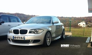 VMR 18 VB3 CSL Style Wheel Super Silver BMW 1 Series E82 E88 128i