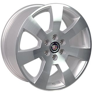 18 Cadillac SRX Wheels Machined Silver Set of 4 4607 Rims