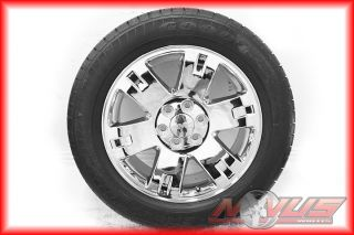 Denali Sierra Chevy Tahoe Silverado Chrome Wheels Tires 22 18