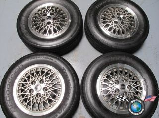 Four 1989 Oldsmobile 88 Factory 15 Wheels Rims Tires 1645530