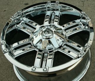 Fuel Gauge D503 20 Chrome Rims Wheels Yukon Denali 99 Up 20 x 9 0 6H