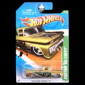 2011 Hot Wheels Treasure Hunt Custom 1962 62 62 Chevy Chevrolet