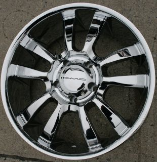 SKITCH 673 20 CHROME RIMS WHEELS RAM 1500 2/4WD 94 10/20 x 8.5 5H +15