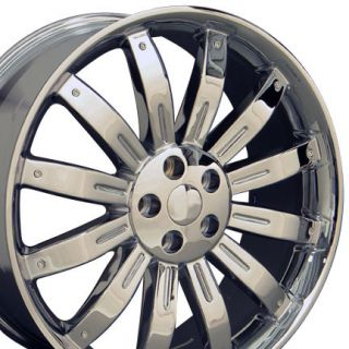 22 Wheels Chrome Rims Fit Land Range Rover LR3 LR4 HSE Sport