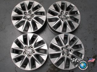 2012 Toyota Prius Factory 15 Wheels Rims OEM 69614 5x100 bolt pattern
