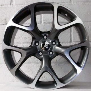 Vauxhall Astra New Model Gunmetal Polished Alloy Wheels 5x105