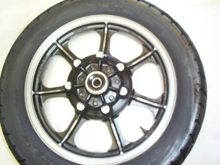 Kawasaki KZ1000 E1 E2 St Shaft Rear Rim Tire Wheel Assy
