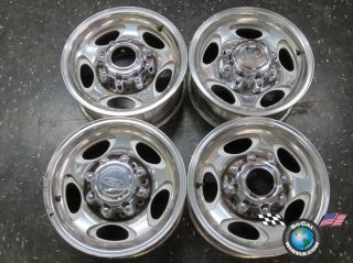 Ford Excursion F250 F350 16 Wheels OEM Rims 3408 Polished F81A 1007 MA