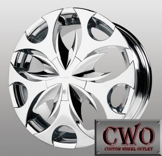 18 Chrome Verde Scorpion Wheels 5x127 5 Lug Dodge Durango Jeep Grand