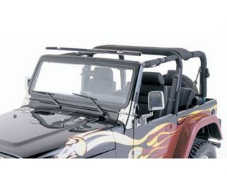 Smittybilt 90105 07 12 Jeep Wrangler JK Outback Windshield Channel