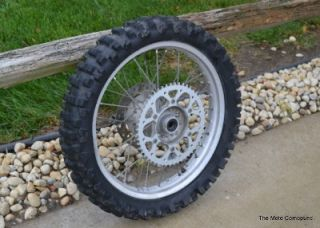 1996 Honda CR250 CR 125 Strait Rear Back Wheel Rims Hub Axle Spaces