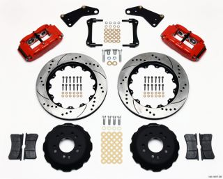 Wilwood Disc Brake Kit Front 65 82 Corvette C2 C3 14 Drilled Rotors