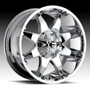 18x9 Fuel Octane Chrome Wheel Rim 8x170 F250 F350 Excursion