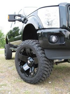18 Black XD Rockstar Wheels Toyo Open Country M T Chevy Dodge 2500