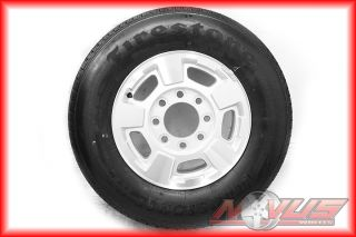 17 GMC Sierra Chevy Silverado 2500 Wheels Firestone Tires 8 Lug 2011
