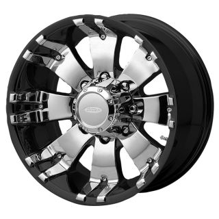 DI88980310A 18x9 10mm Offset 8x6 5 G Black Mach Single Rim
