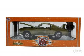 Brand new 124 scale diecast car model of 1965 Ford Mustang GT Honey