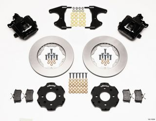 Wilwood Disc Brake Kit Rear Honda Civic 11 10208 Black Calipers