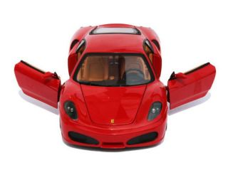 Ferrari F430 Hot Wheels 1 18 Scale Diecast Model Car Red