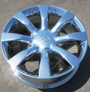 INFINITI FX45 FX35 CHROME WHEELS RIMS MURANO MAXIMA M35 M45 FX50 SET