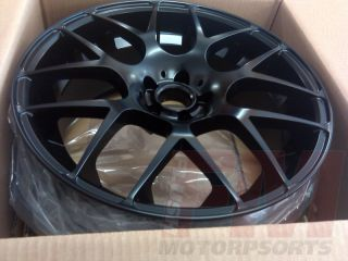 GARDE M310 5X100 MATTE BLACK RIMS 18x8 18x9 VW JETTA GTI GOLF RABBIT