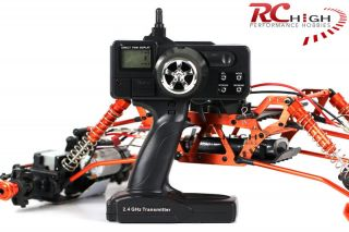 new 1 8 HSP Radio Remote Control 4x4 4WS RC Rock Crawler Truck