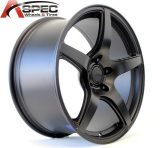19 Euro Tek UO08 Black 5x120 Wheel Fit BMW Z3 Z4 x3 325i 328 330 335