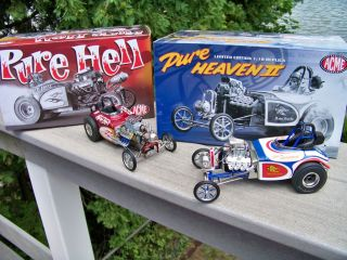 18 Acme Pure Hell Altered Plus Pure Heaven Nitro Powered Rocket SHIP