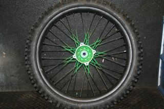 KX250 KX 250 Rear Wheel Hub Rim Spokes