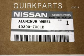 2010 2012 Nissan Altima 17 inch Alloy Wheel Rim Genuine New