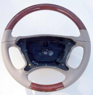 Mercedes CLK 350 Classic Leather Wood Steering Wheel